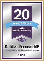 20 years of recognition for most dedicated Physician