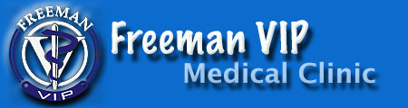 Freeman VIP medical clinic logo